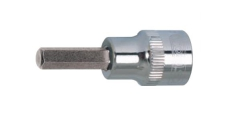 "KS TOOLS Nasadka 1/2"" z grotem 6-kt 12mm krótki CHROME 918.1612"