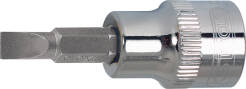 "KS TOOLS nasadka 3/8"" z grotem płaskim 12mm CHROME 918.3987"