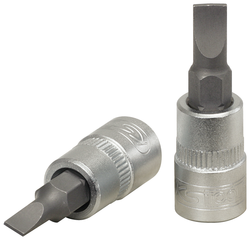 "KS TOOLS nasadka 1/4"" z grotem płaskim 4mm CLASSIC 911.1418"